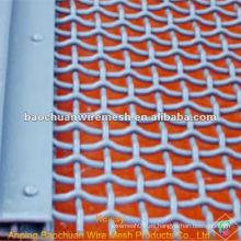 La malla de alambre rizada galvanizada plata de BWG 25 con precio competitivo en almacén