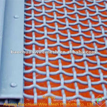 BWG 25 silver galvanized crimped wire mesh with competitive price in store