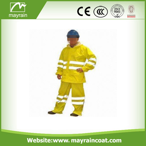 Waterproof Yellow Rain Suit
