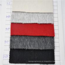 casaco de inverno mulheres / senhoras casaco longo tecido feito de mistura de lã de alpaca
