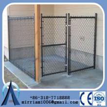 dogs use steel welded door dog kennels cages/black dog kennel