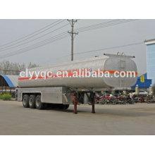 China 3axle tanker trailer 56m3 propane trailers NEW!