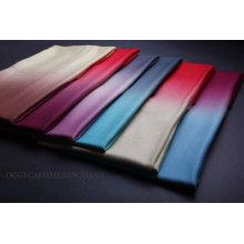 Color Changed Diamond Grain 100% Cashmere Shawl
