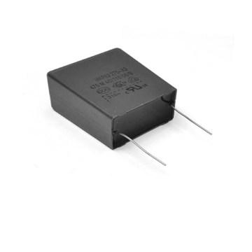 Good Quality Small Gray 275VAC X2 Metallized Polypropylene Film Capacitor Topmay -1