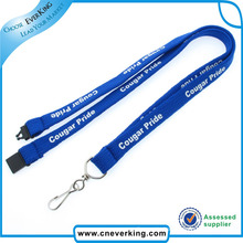 Custom Silk Screen Printed Polyester Tube Lanyard