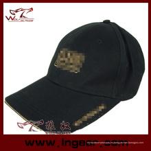 Alta calidad en blanco plano táctico militar tapa sombrero