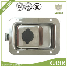 Industrial Cabinet Flush Mount Recessed Lock with Key
