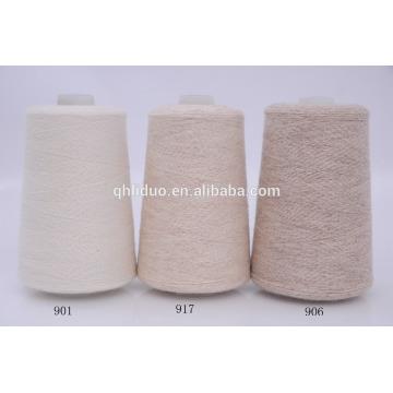 Cachemire mongole de chèvre de fil de cachemire pour tricoter le fil 2 / 26NM