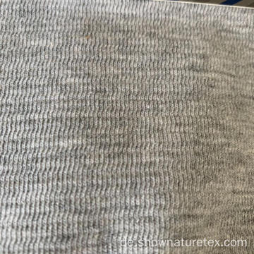 Baumwolle Double Face Grey Knit