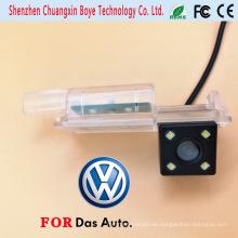 Spezielle Auto-Unterstützungskamera-Nachtsicht mit 4PCS Super Brihgt LED-Lichter für Volkswagen Golf7 / Cc / Scirocco / Lamando