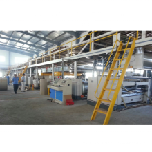 WJ type three five layer carton  corrugated board packing  production line