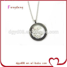 high quality 316L stainless steel floating locket pendant from professional locket manufacturer