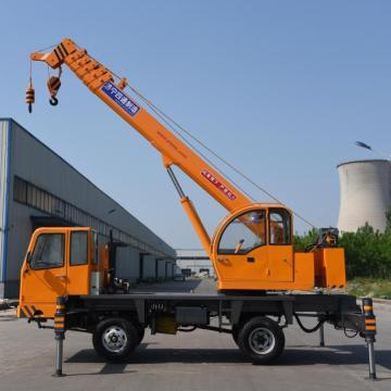 8 Ton Mobile Telescopic Lorry Crane