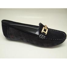 Lates sapatos de couro de lazer Loafer sapatos (fs0017)