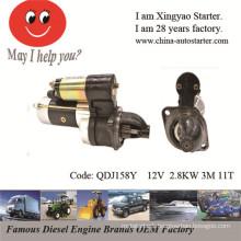 Reduction Starter Suzuki Outboard Motor Starter (QDJ158Y)