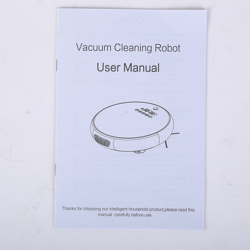 LED Screen House-cleaning Vacuum Robot (3)