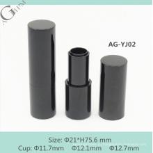 AG-YJ02 AGPM пустой алюминиевые круглые магнитные помады контейнера