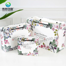 2021 New Fashion Custom Packaging Gift Bag Handle