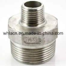 Adaptador para tubo de usinagem de fundição em aço inoxidável (fundição por cera perdida)