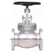 Válvula de parada de flange de aço fundido com válvula de globo