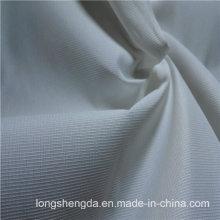 Water & Wind-Resistant Anti-Static Sportswear Woven Peach Skin 100% Striped Jacquard Polyester Fabric