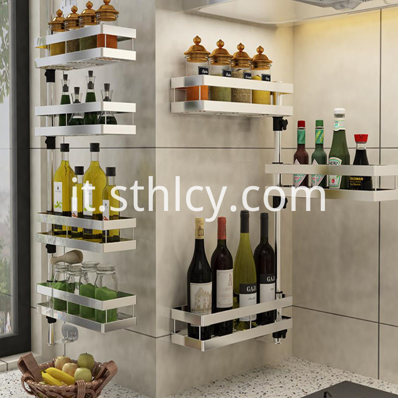 Kitchen Is Multifunctional Receive Rack