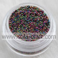 Wholesale Mini Glass Seed Metallic Beads Without Hole
