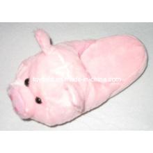 Plush Animals Slipper Shoes Stuffed Pig (TF9725)