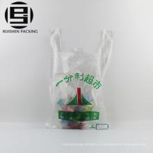 ЭКО пользовательские печать тенниски супермаркета сумки