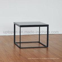Простой Стиль квадратный Искусственний Мраморный столик (СП-GT456)