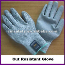 Cut Resistant Level 5 Work Glove With PU Coated ZMR409