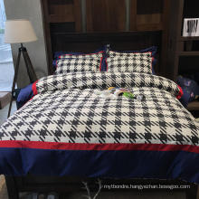 Home Textile Modern Design Bedding Cotton Fabric Soft for Single Bed Sheet Digital Printing