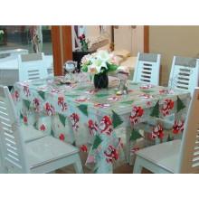 Weihnachtsmuster Tischdecke, PVC Tischdecke