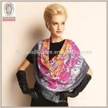 HQ 100% bufanda de lana de bufanda pura de lana
