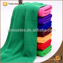 100 * 200cm grüne Farbe Mikrofaser Sport Handtuch Mikrofaser Bad Handtuch Strand
