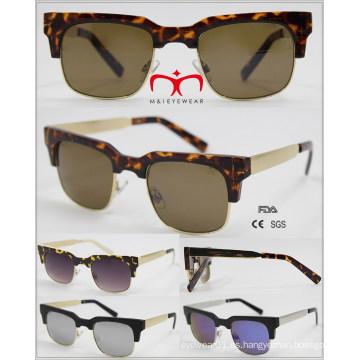 2016 Gafas de sol vendedoras calientes de moda con el templo del metal (WSP601523)