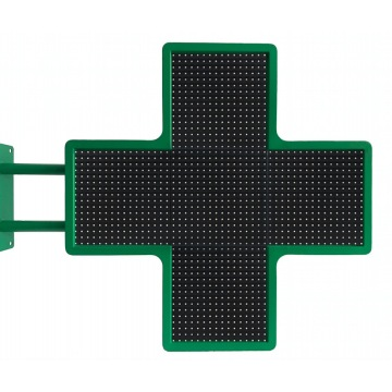 Pantalla LED a todo color para exteriores P8 P10 Cross