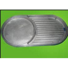 Liga de alumínio do OEM que diecasting a peça para a placa do BBQ