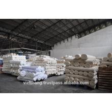 Poliéster Tejido gris viscosa 60 * 50 / TR30 / 2 * TR30 / 2 / ancho 165 cm Tejido liso