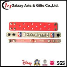 Персонализированные изготовленные на заказ детские силиконовые браслеты для украшения