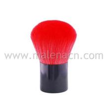 Cosmética Kabuki escova com cor bonita