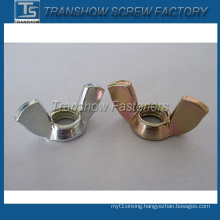 Color Zinc Pated Square Wing Type (DIN314) Wing Nut