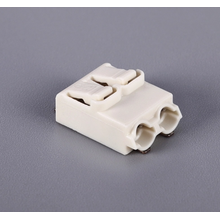 PCB push-wire connectors for instrumentation