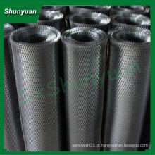 Alta qualidade pequeno orifício 0,4x0,5 milímetros alumínio expandido malha metálica / malha de arame para máquina / filtro
