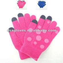 touch screen knitting gloves