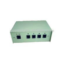 4 puertos RJ11 cuadro de conmutación de datos manual (ERC422)