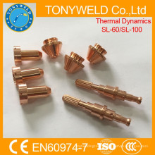 Plasma cutting parts of SL60 SL100 thermal dynamics