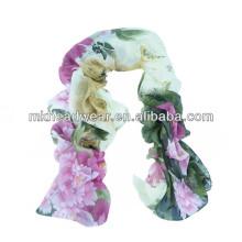 Bufanda de la tela viscosa coloreada multi al por mayor