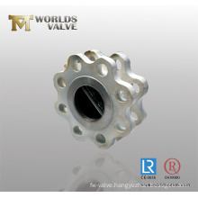 Stainless Steel Double Flange Butterfly Valve