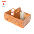 French Country Design Rustic Wooden Storage box Organizer Chest